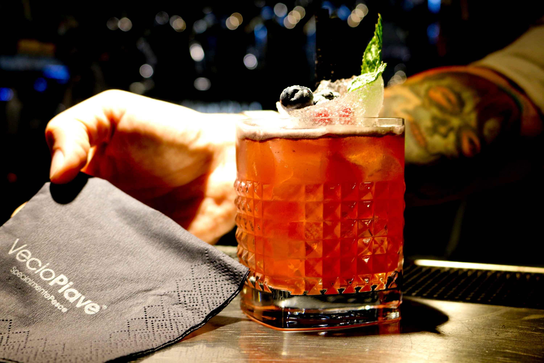 Preparazione cocktail Vecio Piave 4