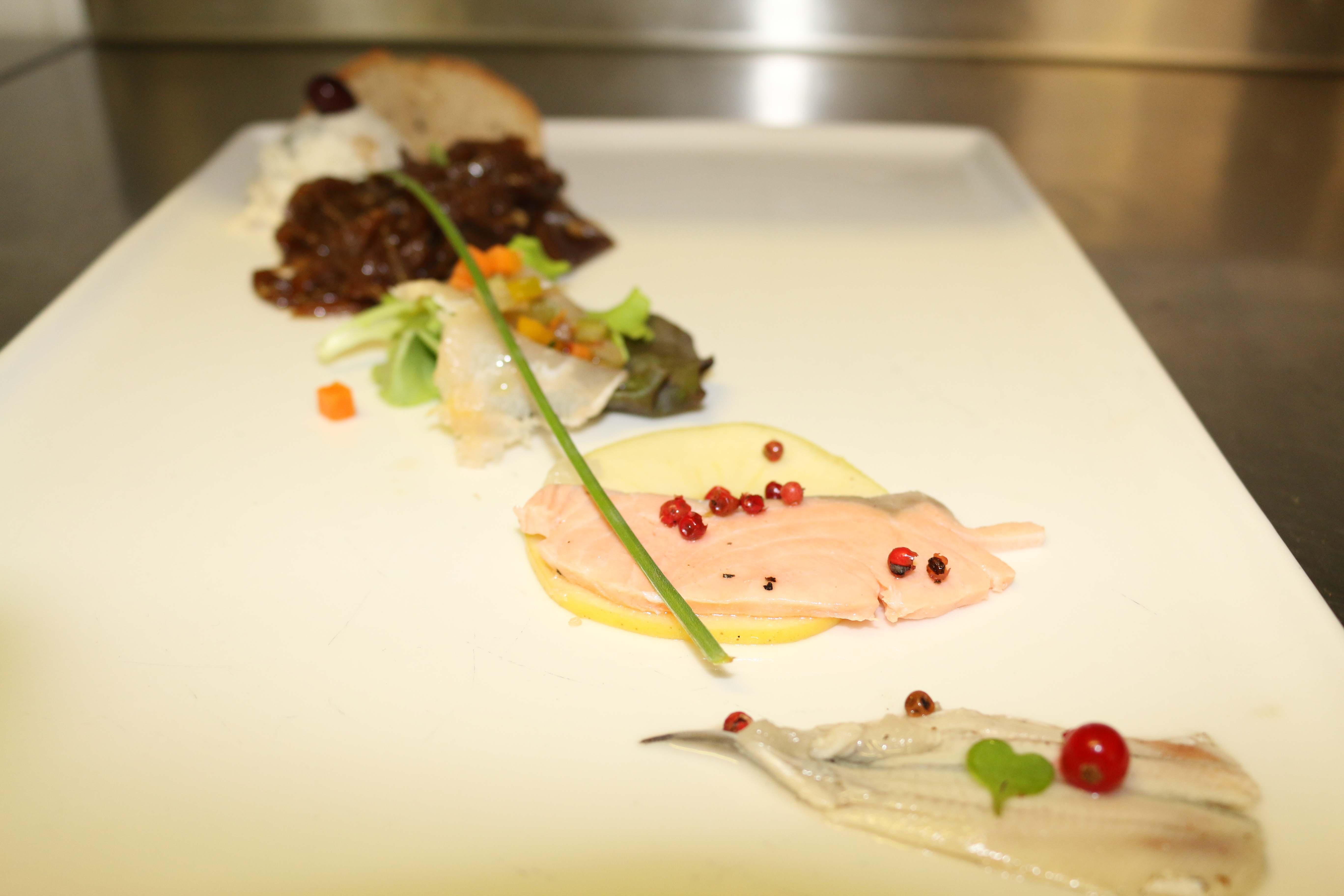 Antipasto a base di pesce Vecio Piave