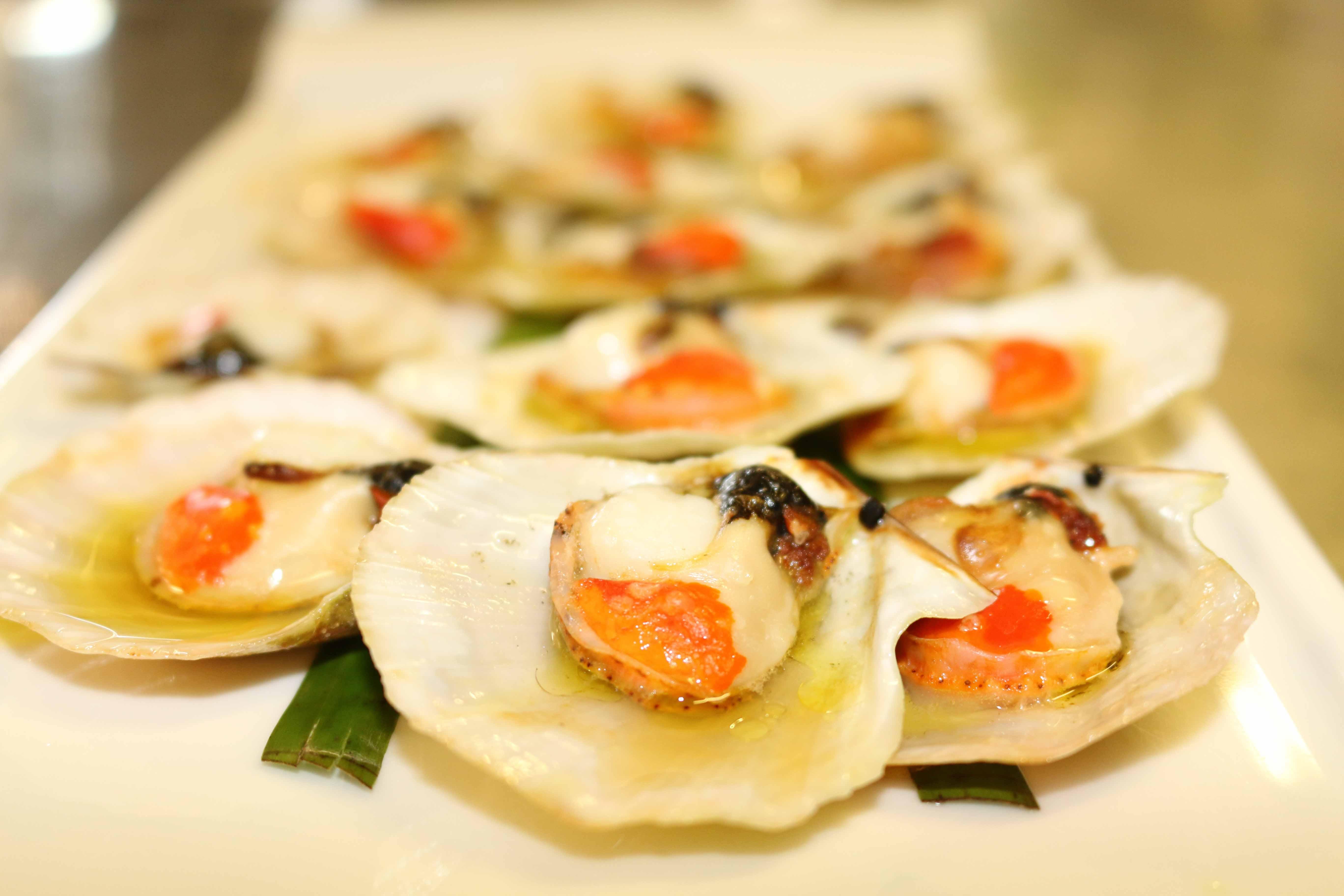 Capesante al forno ristorante Vecio Piave
